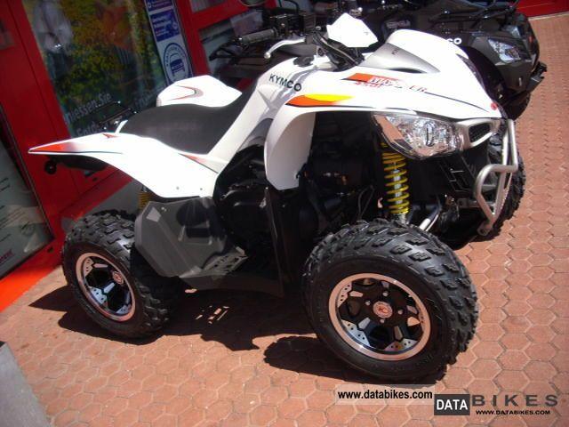 2011 Kymco  MAXXER 450i TOP-financing Motorcycle Quad photo