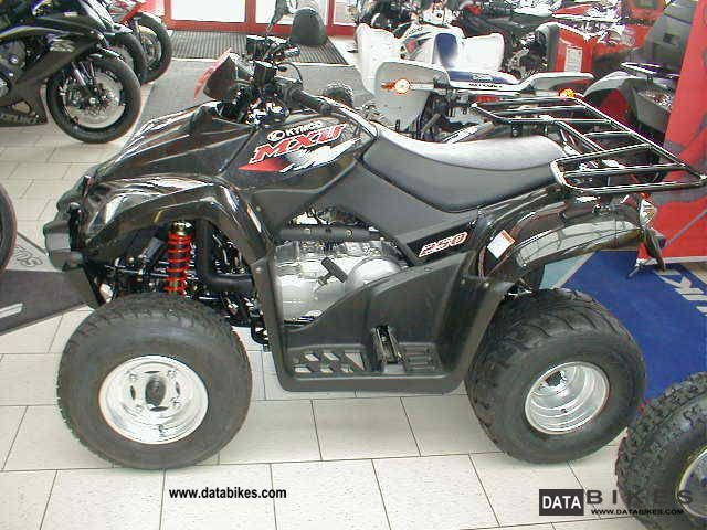 2011 Kymco  MXU 250 TOP-financing Motorcycle Quad photo