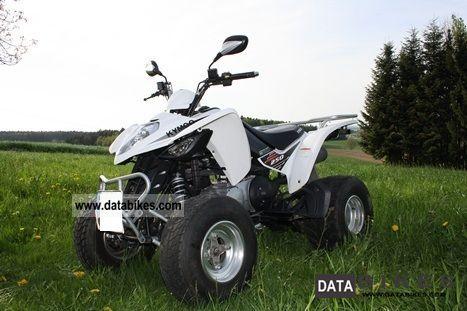 2009 Kymco  Maxxer 250 Motorcycle Quad photo