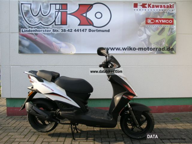 2011 Kymco  KYMCO Agility RS 50 from the dealer Motorcycle Scooter photo