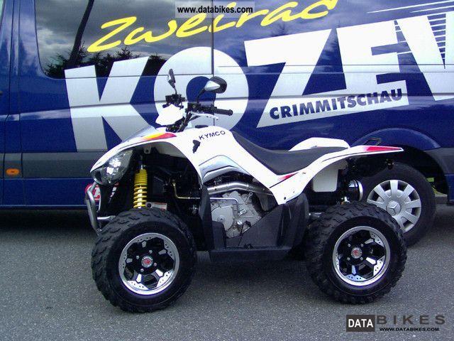 2011 Kymco  Maxxer 450 Motorcycle Quad photo