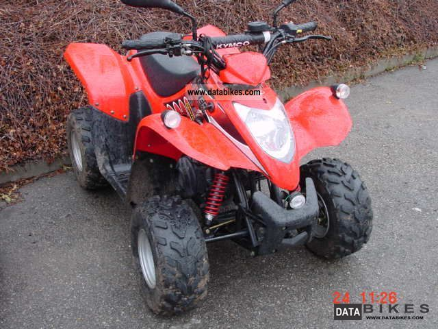 Kymco  Maxxer 50 2009 Quad photo