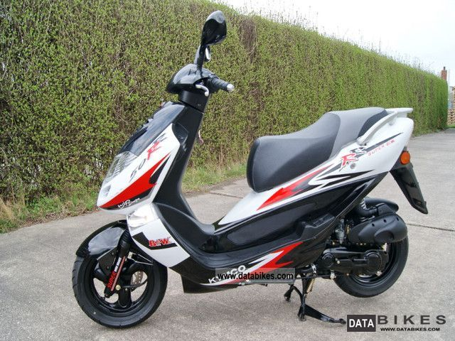 2008 Kymco  B & W 50 DINK Motorcycle Scooter photo