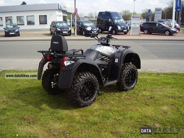 2012 Kymco  MXU 500 IRS Motorcycle Quad photo