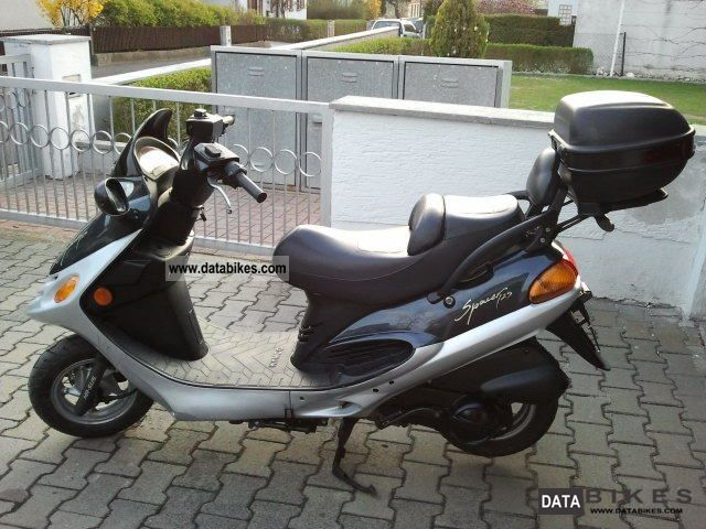 2000 Kymco  Spacer Motorcycle Scooter photo