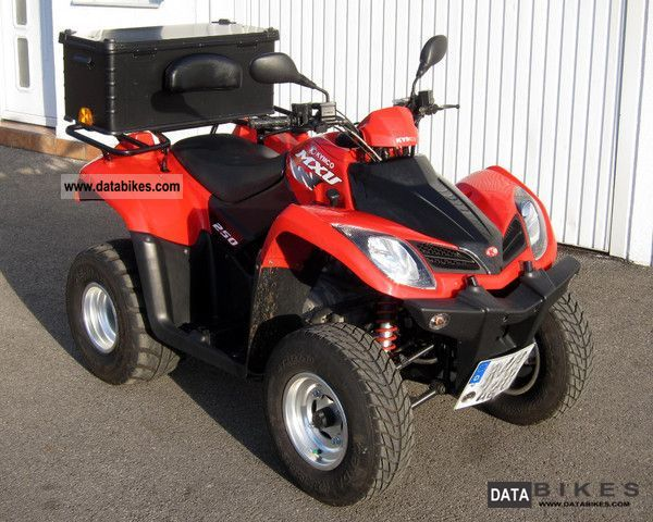 2009 Kymco  MXU 250 Motorcycle Quad photo
