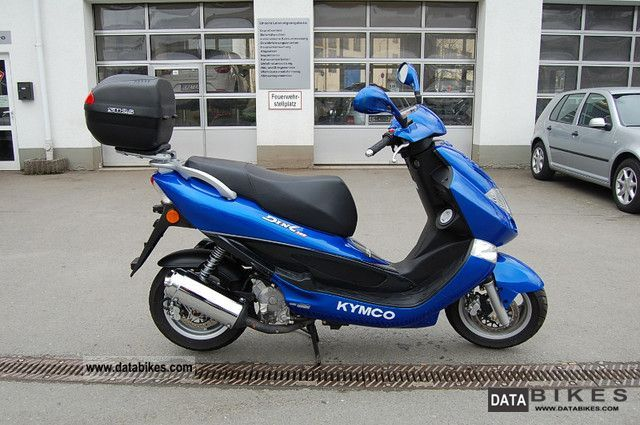 Kymco  Dink 125 * from 1.Hand only 3966km 2004 Scooter photo