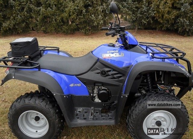 2007 Kymco  MX 500 4 x 4 Motorcycle Quad photo