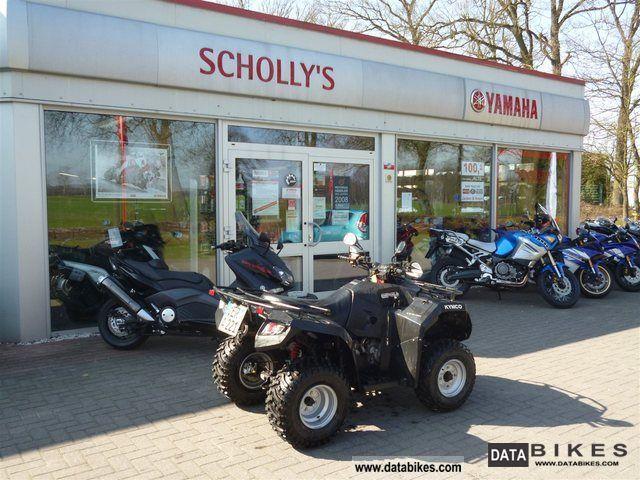 2012 Kymco  MXU 300 R, offroad Motorcycle Quad photo