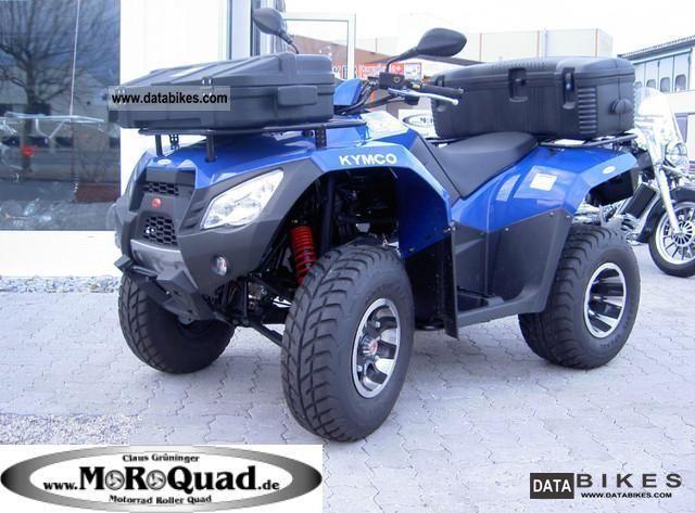 2012 Kymco  MXU 300R Motorcycle Quad photo