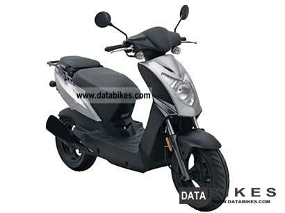 2009 Kymco  Agility 50 Motorcycle Scooter photo