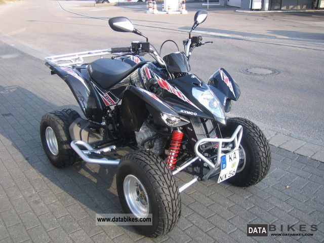 2012 Kymco  Maxxer 300 OnRoad Motorcycle Quad photo