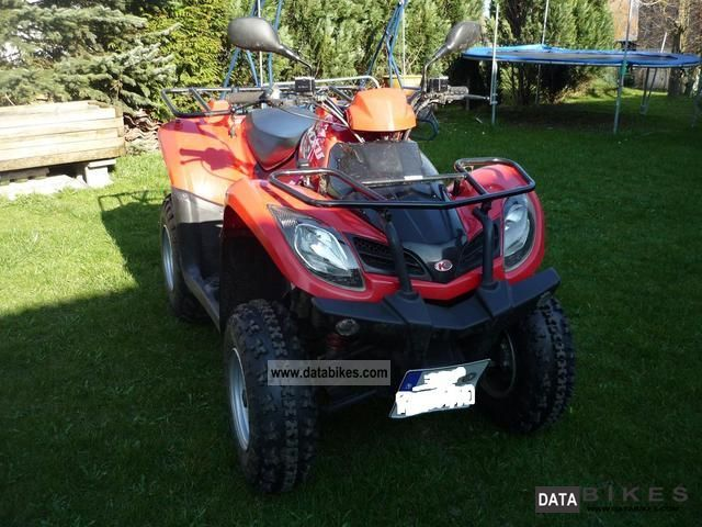 2007 Kymco  MXU 250 Motorcycle Quad photo