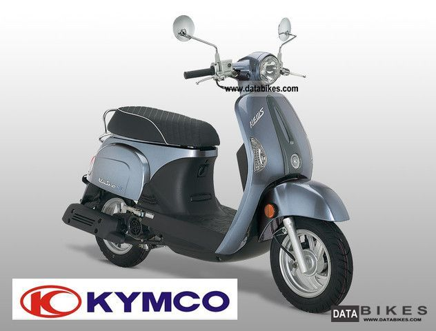 Kymco  NEWSENTO 50i / m 4-stroke scooters. electric injection 2011 Scooter photo