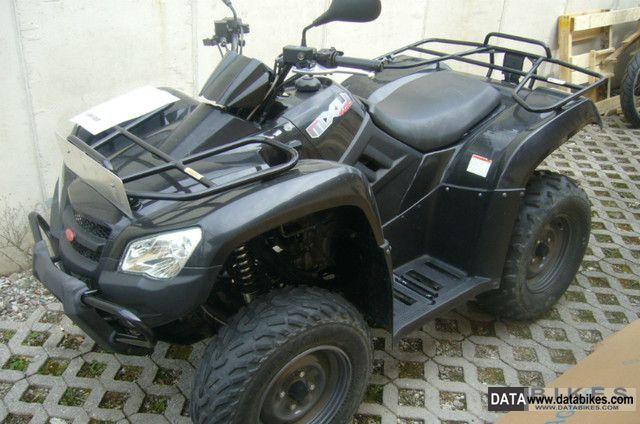quad kymco 400 mxu 4×4