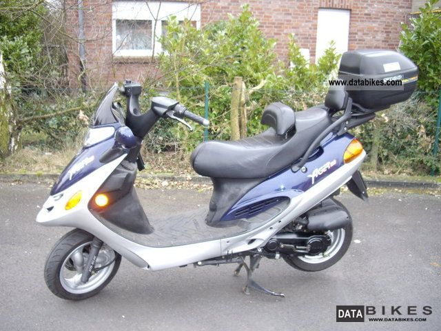 Kymco  Yager 50 2002 Scooter photo