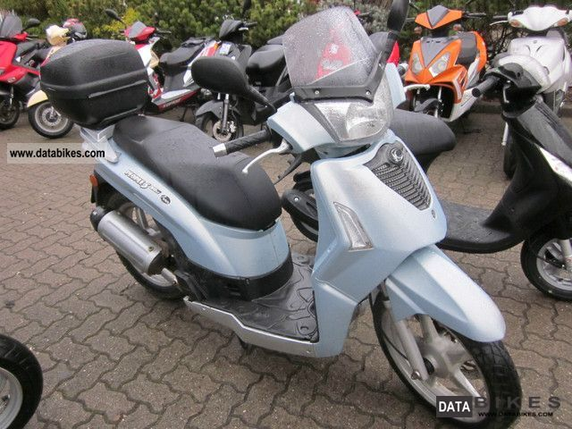 2007 kymco people 50 s 4 stroke moped 25 km h. Black Bedroom Furniture Sets. Home Design Ideas