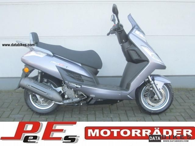 Kymco  YAGER 200 WITH VERY FEW KILOMETERS! 2009 Scooter photo
