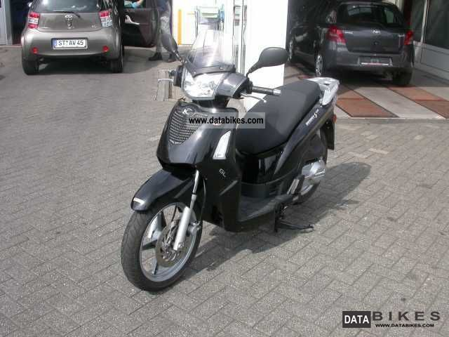 2007 Kymco  People 125 black 1.Hand Motorcycle Scooter photo