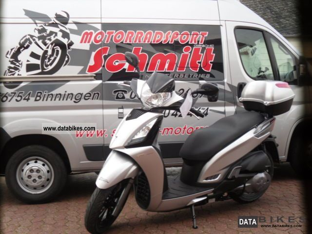 2011 Kymco  * ACTION * peopel 300i Motorcycle Scooter photo