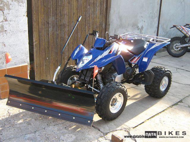 2012 Kymco  Maxxer 300 new 0 km including optional dozer blade Motorcycle Quad photo