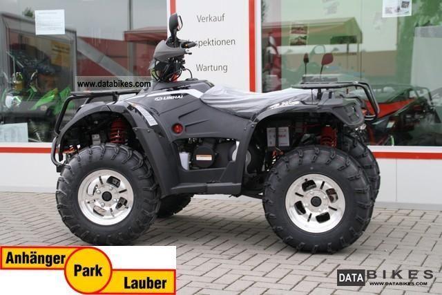 2011 Linhai  ATV 420 4x4 in black 14 hp, four-wheel! Motorcycle Quad photo