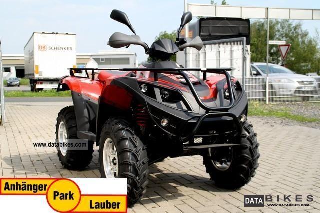 2011 Linhai  ATV 420 4x2 in red, 14 hp Motorcycle Quad photo