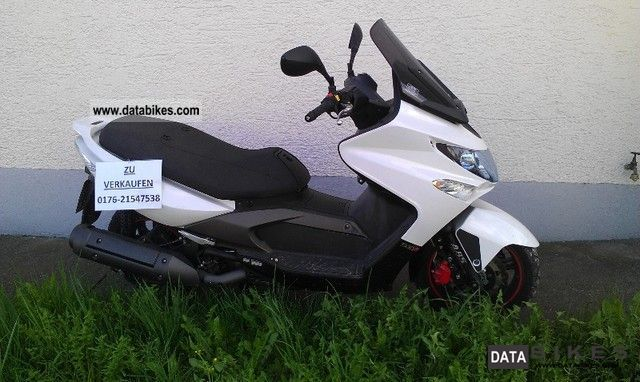 Linhai  xciting 500I ABS R 2009 Scooter photo