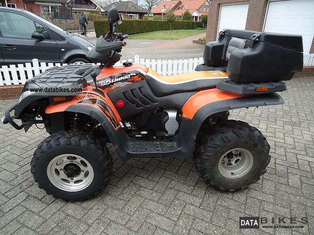 2008 Linhai  300cc 4x2 Motorcycle Quad photo