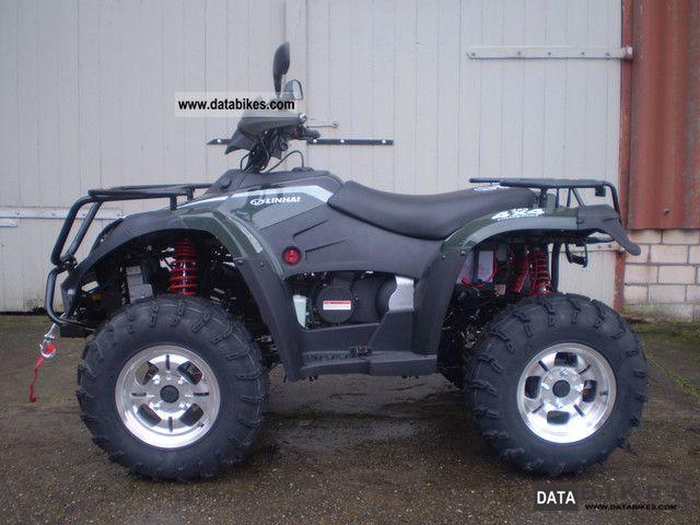 Linhai  420 4x4 ATV 2011 Quad photo