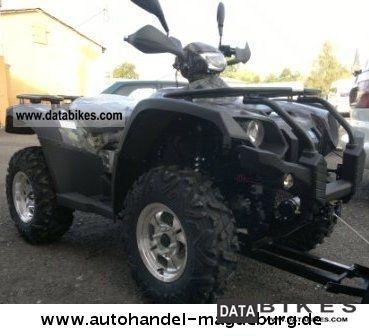 2011 Linhai  Quad ATV 600 EFI 4x4, V2 ENGINE, CVT AUTO., NEW Motorcycle Quad photo