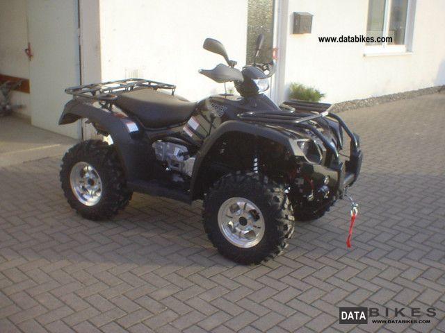 2011 Linhai  600 4x4 ATV Winch LOF Motorcycle Quad photo