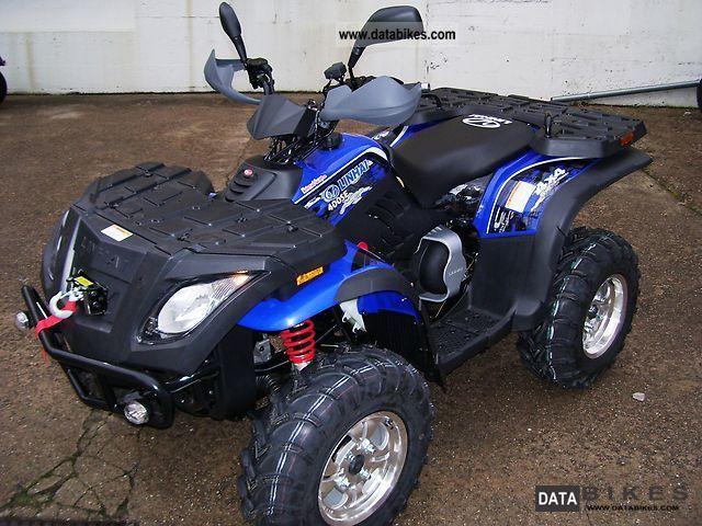 Linhai  420 4x4 ATV carrier / LOF including navigation 2012 Quad photo