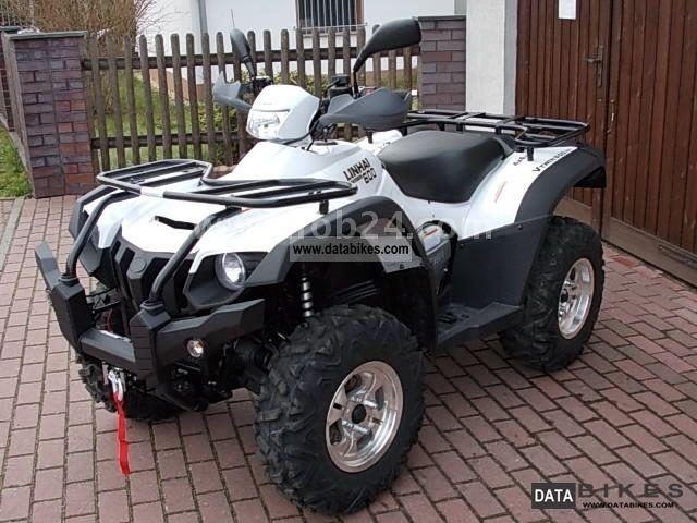 2011 Linhai  600 EFi ATV 4 x 4 LoF Motorcycle Quad photo