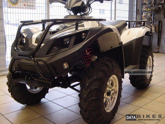 Linhai  Quad ATV 420 4x2 white 2011 Quad photo