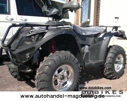 2011 Linhai  Quad ATV 420, 4x2, CVT AUTO., KARDAN, ALU, inkl.LOF! Motorcycle Quad photo