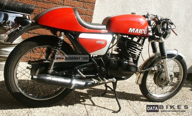Maico  MD250 LK 1974 Vintage, Classic and Old Bikes photo