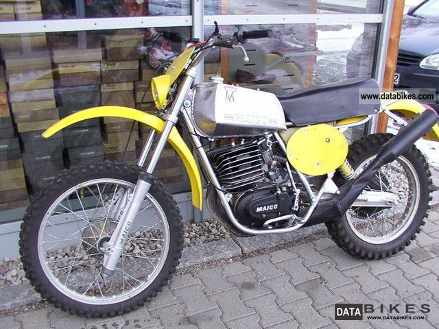 Maico  GS 400 motorcycle plant 1975 Vintage, Classic and Old Bikes photo
