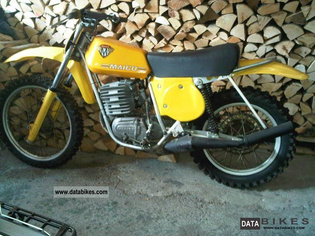 Maico  MC 400 2 stroke 1975 Vintage, Classic and Old Bikes photo