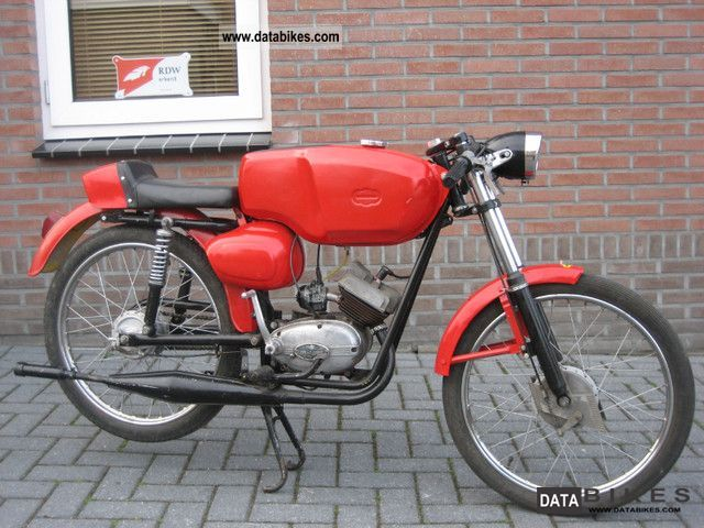 Malaguti  Franco Morini 1962 Vintage, Classic and Old Bikes photo