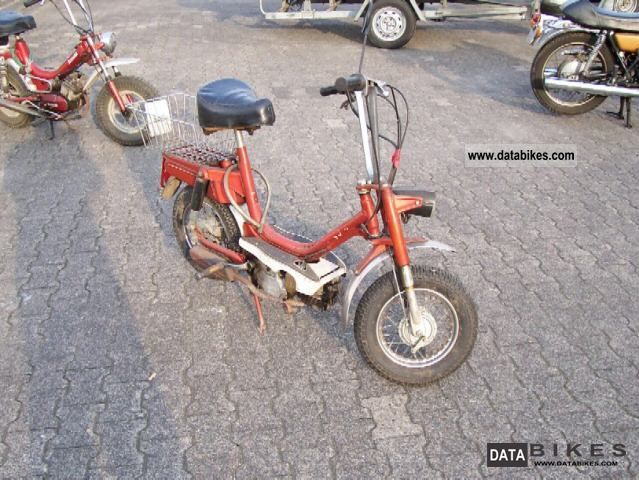 1980 Malaguti  50 cc Motorcycle Motor-assisted Bicycle/Small Moped photo