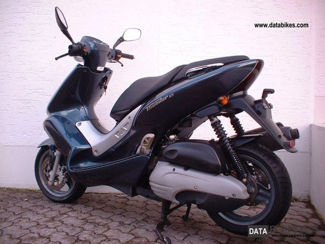 2001 MBK  Thunder 125 * only * 2700 km Motorcycle Scooter photo