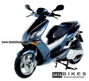 2001 MBK  Thunder Motorcycle Lightweight Motorcycle/Motorbike photo