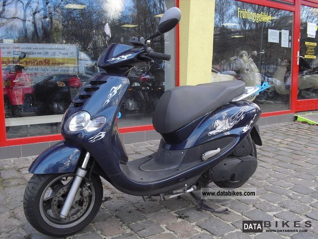 2005 MBK  Dodoo 125 nationwide delivery Motorcycle Scooter photo