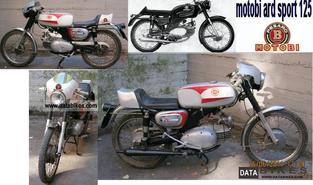 Motobi  ard sport 125 2T 1954 Vintage, Classic and Old Bikes photo