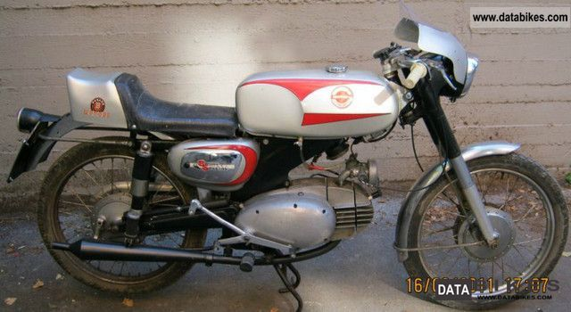 1954 motobi ard sport 125 2t motorcycle sports super sports bike photo