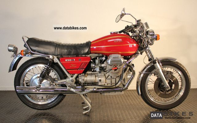 Moto Guzzi  850 T 1974 Vintage, Classic and Old Bikes photo