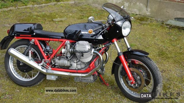 Moto Guzzi  Le Mans 2 1979 Vintage, Classic and Old Bikes photo