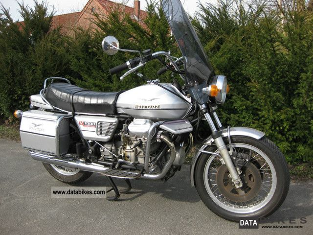 Moto Guzzi  Convert 1000 1977 Vintage, Classic and Old Bikes photo