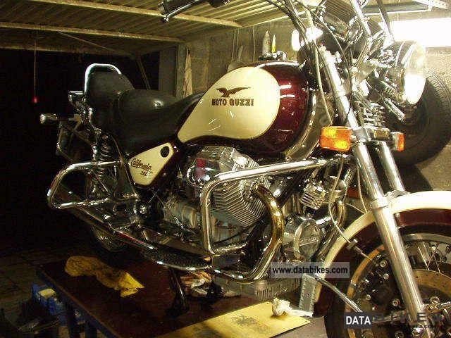 1990 Moto Guzzi  California III in top condition Motorcycle Chopper/Cruiser photo